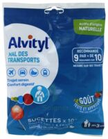 Alvityl Sucette Mal Des Transports Cola Fraise Sachet/10 à Ustaritz