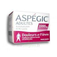 Aspegic Adultes 1000 Mg, Poudre Pour Solution Buvable En Sachet-dose 20 à Ustaritz
