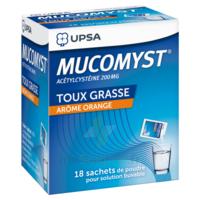 Mucomyst 200 Mg Poudre Pour Solution Buvable En Sachet B/18