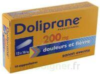 Doliprane 200 Mg Suppositoires 2plq/5 (10) à Ustaritz