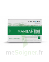 Granions De Manganese 0,1 Mg/2 Ml S Buv En Ampoule 30amp/2ml à Ustaritz