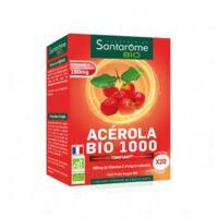 Santarome Bio Acérola 1000 Comprimés à Croquer 2t/10 à Ustaritz