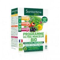 Santarome Bio Programme Ultra Minceur Solution Buvable 30 Ampoules/10ml à Ustaritz