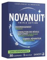 Novanuit Triple Action Comprimés B/30 à Ustaritz
