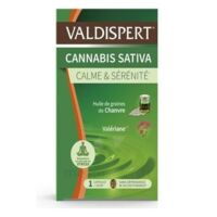 Valdispert Cannabis Sativa Caps Liquide B/24 à Ustaritz