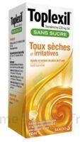 Toplexil 0,33 Mg/ml Sans Sucre Solution Buvable 150ml à Ustaritz