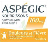 Aspegic Nourrissons 100 Mg, Poudre Pour Solution Buvable En Sachet-dose à Ustaritz