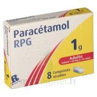 Paracetamol Rpg 1 G, Comprimé Sécable à Ustaritz