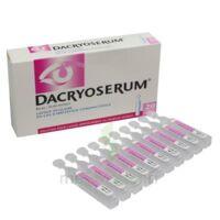 Dacryoserum Solution Pour Lavage Ophtalmique En Récipient Unidose 20unidoses/5ml à Ustaritz