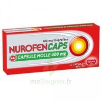 Nurofencaps 400 Mg Caps Molle Plq/10 à Ustaritz
