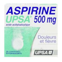 Aspirine Upsa 500 Mg, Comprimé Effervescent à Ustaritz