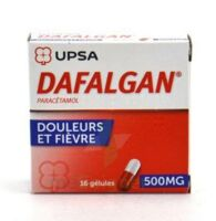 Dafalgan 500 Mg Gélules 2plq/8 (16) à Ustaritz