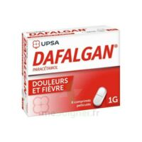 Dafalgan 1000 Mg Comprimés Pelliculés Plq/8 à Ustaritz