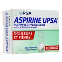 Aspirine Upsa Tamponnee Effervescente 1000 Mg, Comprimé Effervescent à Ustaritz