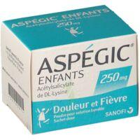 Aspegic Enfants 250, Poudre Pour Solution Buvable En Sachet-dose à Ustaritz