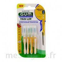 Gum Trav - Ler, 1,3 Mm, Manche Jaune , Blister 4 à Ustaritz