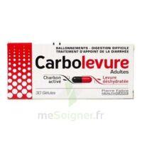 Carbolevure Gélules Adulte Plq/30 à Ustaritz