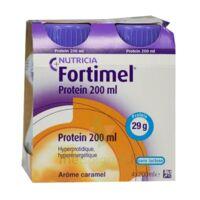 Fortimel Protein Nutriment Caramel 4 Bouteilles/200ml à Ustaritz