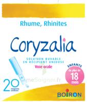 Boiron Coryzalia Solution Buvable Unidose B/20 à Ustaritz