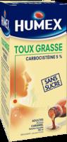 Humex 5 % Solution Buvable Expectorant Sans Sucre Adulte Fl/250ml à Ustaritz