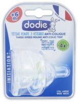Dodie Initiation+ Tétine 3vitesses Débit4 Silicone Liquide épais B/2 à Ustaritz