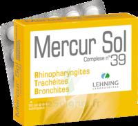 Lehning Mercur Sol Complexe N°39 Comprimés Sublinguals B/60 à Ustaritz