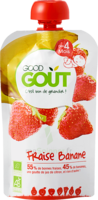Good Goût Alimentation Infantile Fraise Banane Gourde/120g à Ustaritz
