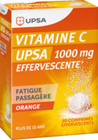 Vitamine C Upsa Effervescente 1000 Mg, Comprimé Effervescent à Ustaritz