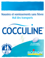 Boiron Cocculine Comprimés Orodispersibles B/40 à Ustaritz